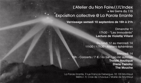 Atelier index parole