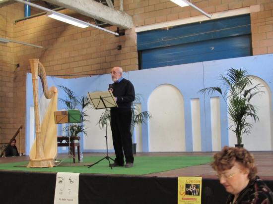 2011 Concert Harpe et Flûte à Aulnay