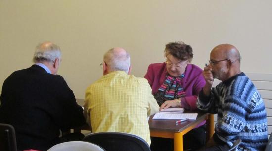 2013 Réunion bénévoles - groupe de travail