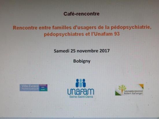 Café rencontre 25 novembre 2017