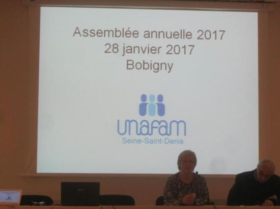 Assemblée annuelle Unafam 93
