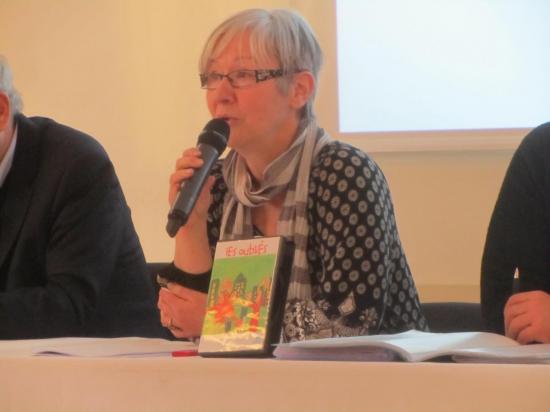 16h52 : Brigitte Delphis, Présidente déléguée Unafam 93