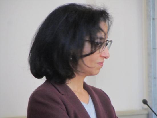 Mme Zaynab Riet, directrice EPS Ville-Evrard