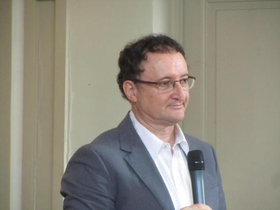 Dr Pascal Favré, responsable pôle G16