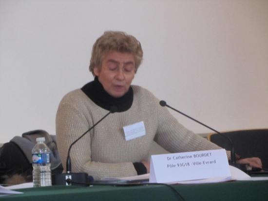 Dr Catherine Bourdet, secteur G18