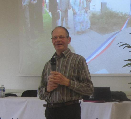 Lucien Petot, vice-président délégué Unafam 93