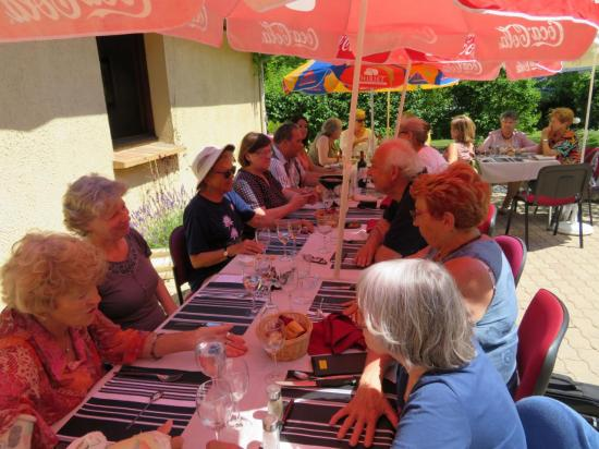 repas des bénévoles à Neuilly sur Marne