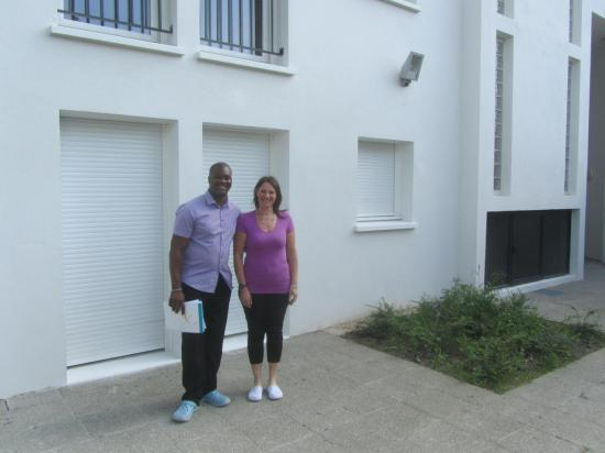 Résidence de Luppé  Amadou et Sandrine, les hôtes de la résidence