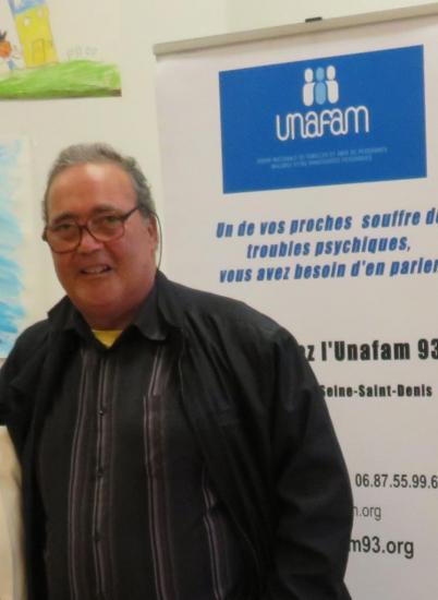 Paul Lambert nouveau délégué départemental de l'Unafam 93