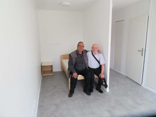 Visite résidence- accueil  Bobigny juin 18