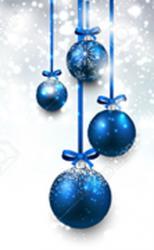 Boules bleues